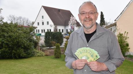 Manchmal kommt das Glück überraschend, wie für Thomas Bauch, der am Donnerstag als glücklicher Retro-Rätsel-Löser 1000 Euro gewann.