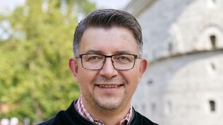 Joachim Siebler, Bundeswahlkreiskandidat der Grünen für Ingolstadt, Eichstätt und Neuburg, setzt auf eine grüne Kanzlerin.