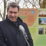 Mit seinem Besuch im Donaumoos Anfang Mai löste Ministerpräsident Markus Söder Kritik aus. Die Gemeinden fühlen sich ausgeschlossen.