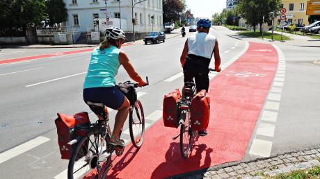 Es ist einer der Knackpunkte beim Neuburger Radverkehr: die Kreuzung Ingolstädter Straße/ Monheimer Straße.