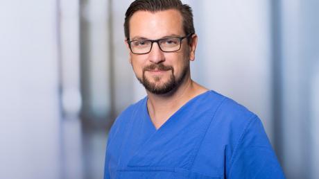 Stephan Steger ist Direktor der Notfallklinik am Klinikum Ingolstadt.