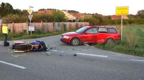Bei Treidelheim ist es am frühen Mittwochabend zu einem tödlichen Unfall gekommen.