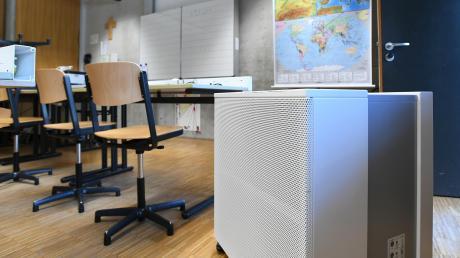 In diesen Wochen werden in Ingolstädter Kitas und Schulen Lüftungsgeräte installiert.