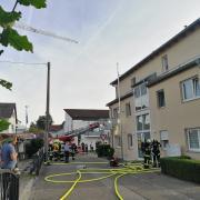 Im Heilig-Geist-Weg in Neuburg hat es in einer Wohnung eines Mehrfamilienhauses gebrannt.