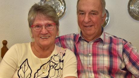 Seit 60 Jahren glücklich miteinander verheiratet: Ingeborg und Klaus-Jürgen Nartschick aus Ludwigsmoos feiern ihre Diamantene Hochzeit.
