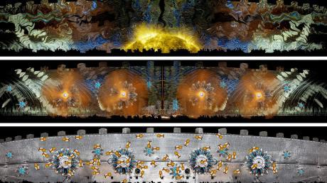 So wie diese Computeranimation könnte die Außenfläche des Reduit Tilly in Licht getaucht aussehen.