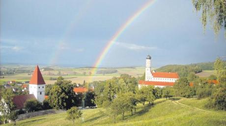 Die Aussichtsplattform von Mönchsdeggingen bietet einen schönen Ausblick. (Archiv)