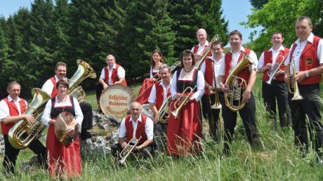 Die Kesseltaler Musikanten spielen am Samstag, 7. November, zusammen mit den Flotten Härtsfeldern in Amerdingen auf.