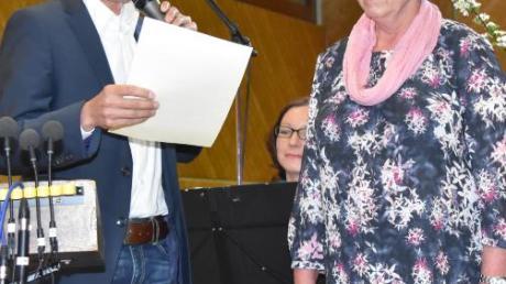 Helga Ulrich, langjährige Dirigentin, wurde zum Ehrenmitglied ernannt.