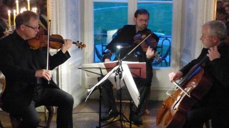 In fast schon familiärer Atmosphäre begannen die Internationalen Rosetti-Festtage mit einem Konzert des Dresdner Streichtrios in Amerdingen.
