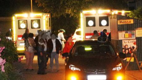 Feuer-Unfall: Die Polizei sucht Zeugen