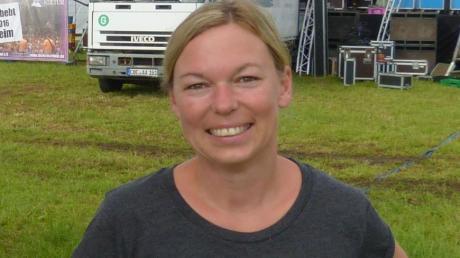 Marion Bayr gehört zum Kraterkultur-Team, das dieses Wochenende das Open Air in Megesheim organisiert.