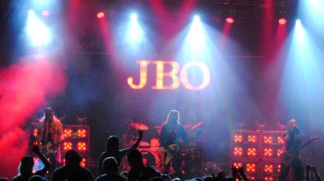Die Farbe Rosa ist das Markenzeichen von J.B.O.