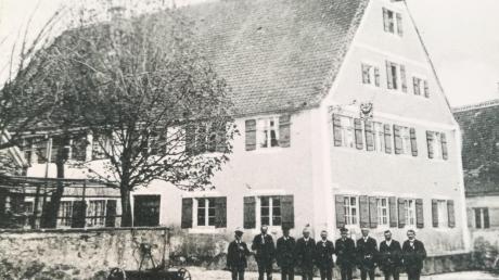 """Im """"Schwarzen Adler"""" in Munningen gastierten vor rund 500 Jahren vor allem die Männer aus der Oberschicht. Zu der Zeit gab es in Munningen noch fünf weitere Wirte."""