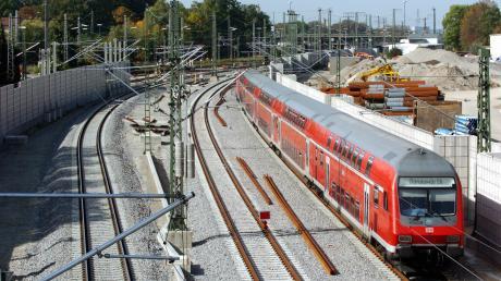 Die Bahnstrecke von Nördlingen nach Dombühl ist Thema im bayerischen Landtag.