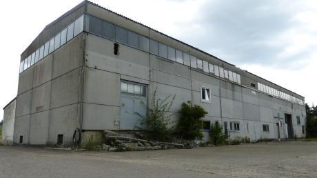 Die alte Trocknungsanlage bei Aufhausen ist seit gut zehn Jahren außer Betrieb<b>.</b>