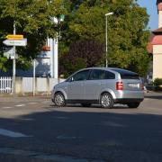 Vor dem Berger Tor soll ein Kreisverkehr gebaut werden.