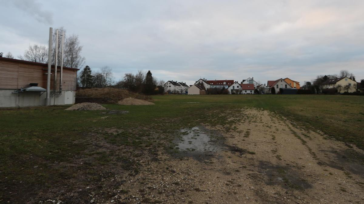 In Oettingen wird eine Schule gebaut