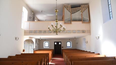 Die neue Orgel in Forheim wird am Sonntag mit einem Gottesdienst mit Dekan Gerhard Wolfermann eingeweiht.