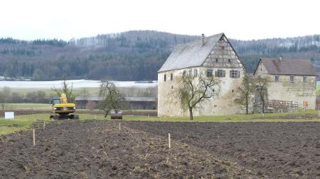 Zum Stolch'schen Schloss in Trochtelfingen soll eine neue Zufahrt gebaut werden.