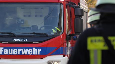Die Feuerwehr rückte in Hohenaltheim mit 30 Mann an.