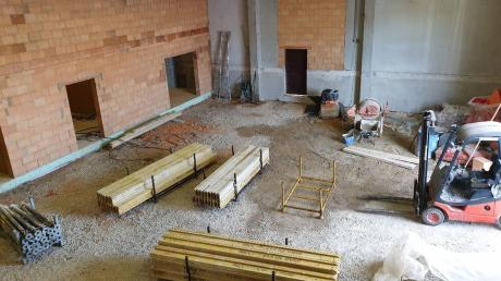 Die Umbauten in den Alerheim Gemeindegebäuden schreiten fort. Heuer machen sie einen Großteil der Ausgaben im Vermögenshaushalt aus.