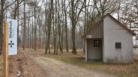 """Direkt neben dem alten jüdischen Friedhof am Hühnerberg bei Harburg befindet sich der neu angelegte Waldfriedhof """"Waldruh"""". In Fremdingen soll nun ebenfalls ein Waldfriedhof entstehen.(Archivfoto)"""