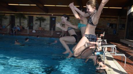 Während der Aktionswoche im vergangenen April nutzten Kinder, Jugendliche und Erwachsene begeistert das Mönchsdegginger Schwimmbad. Ob das Almarin wiedereröffnet werden kann, ist noch nicht sicher.