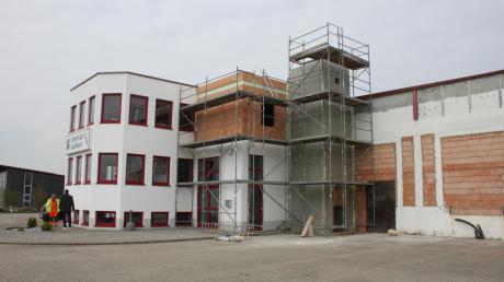 Viel wird derzeit in Alerheim gebaut, unter anderem am neuen Verwaltungszentrum an der Fessenheimer Straße. Darüber informierte Bürgermeister Christoph Schmid bei den Bürgerversammlungen.