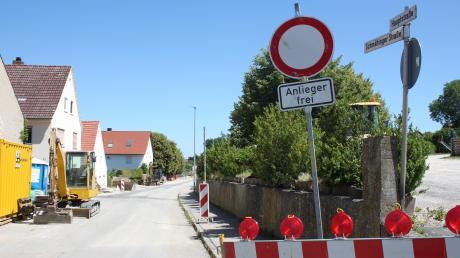 Noch wird in der Hauptstraße gebaut, da wird in Reimlingen schon weiter geplant. Spätestens in den kommenden Jahren soll weiter investiert werden.