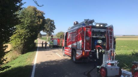 Knapp 30 Feuerwehrleute waren im Einsatz,