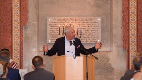 Der Antisemitismusbeauftragte der Bayerischen Staatsregierung, Ludwig Spaenle.