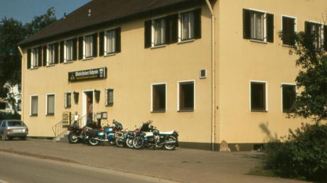 In Auhausen gab es einst eine Molkerei. Im Laufe der Zeit wurde das Gebäude auch als Gaststätte genutzt.