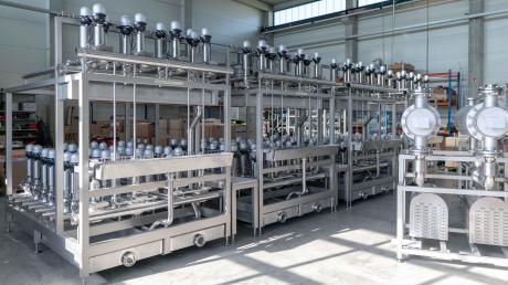 Zusammen mit der Nördlinger Firma STW hat LP Projekt Serviceein Ventilsystem für eine Brauerei vorgefertigt.