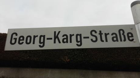 Die Georg-Karg-Straße in Heroldingen erinnert an den Reformator im Herrschaftsgebiet Ludwigs XV von Oettingen-Oettingen.