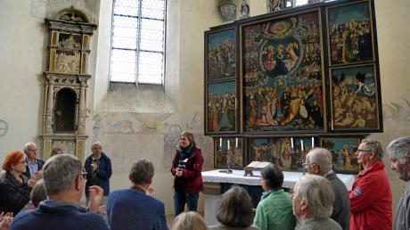 Ein umfangreiches Programm gab es am Sonntag zum Tag des offenen Denkmals in Auhausen – unter anderem eine Kirchenführung, einen Festvortrag und ein Orgelkonzert.