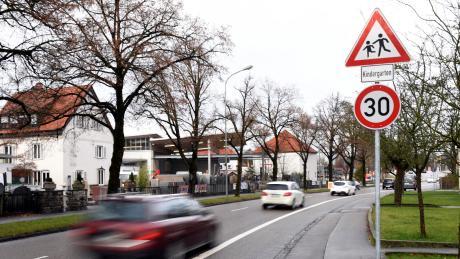 In Alerheim gilt vor der Grundschule Tempo 30.