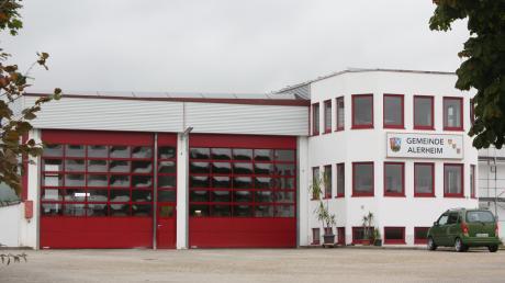 Im Bauhof der Gemeinde Alerheim soll ab Januar 2021 der gemeinsame Bauhof von Alerheim und Wechingen untergebracht werden.