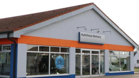 Seit 1977 gibt es das Autohaus Stefany in Wechingen.