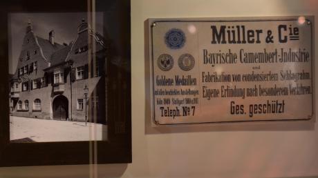 In der Goldenen Gans in Oettingen gab es früher eine Camembert- und Rahmfabrik. Der gebürtige Schweizer Robert Müller stellte Milchprodukte und Limonade-Essenzen her.