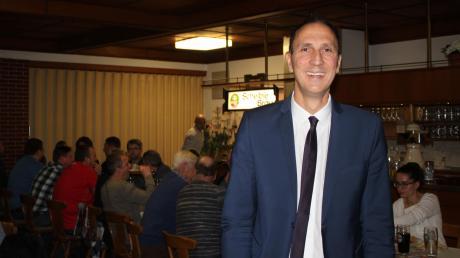 Alerheims Bürgermeister Christoph Schmid will 2020 erneut für das Amt kandidieren. Die Alerheimer Wählervereinigung nominierte ihn mit 61 Stimmen.