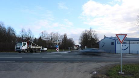Die Kreuzung auf der Bundesstraße 29 auf Höhe Baldingen ist nach Angaben mehrerer Experten bislang kein Unfallschwerpunkt.