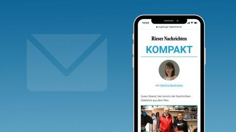 """In Zukunft erhalten Sie über unsere NewsApp von Montag bis Freitag jeden Abend unseren neuen lokalen Newsletter """"Nördlingen Kompakt""""."""