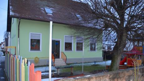Der Kindergarten in Laub war Gegenstand der Diskussionen im Munninger Gemeinderat. Welche Lösung angestrebt wird, blieb noch offen.