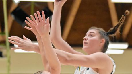 Angels-Basketballerin Luisa Geiselsöder feierte am 14. November in der Hermann-Keßler-Halle ihr erfolgreiches Debüt in der deutschen Nationalmannschaft der Frauen.