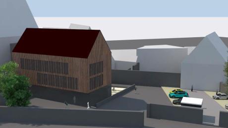 So soll der Anbau an die Grundschule Mitte (bislang) aussehen. Doch wie entscheidet ein neuer OB? Wir haben die Kandidaten nach ihrer Meinung zum umstrittenen Projekt gefragt.