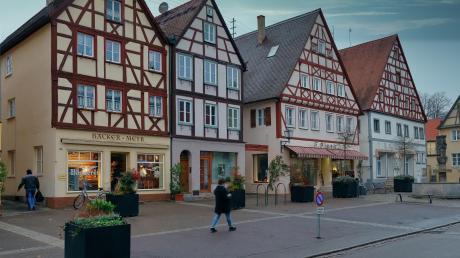 Die Altstadt Oettingens.