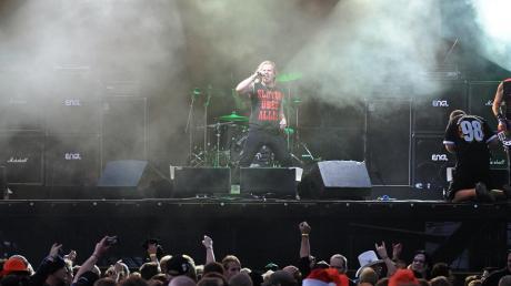 """Die Band """"Kneipenterroristen"""" sind bekannt von großen Metalfestivals wie dem Wacken. Sie sollen auch zum """"Camping Battleground Festival"""" nach Nittingen kommen."""