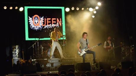 """Die Band """"Queenmania"""" begeisterte mit den Hits der Rockband im Klösterle."""