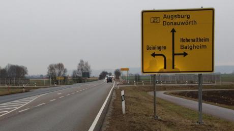Der dreistreifige Ausbau der B 25 war Thema im Bauausschuss des Nördlinger Stadtrates.